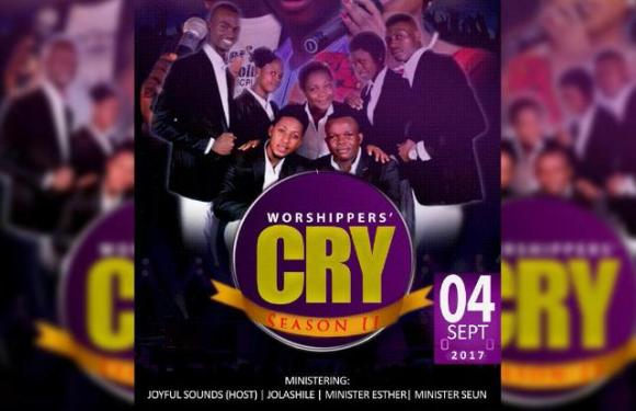 EVENT : JOYFULSOUNDS ANNOUNCES WORSHIPERS' CRY 2.0 #WC17 & NEW SINGLE RELEASE DATE @joyfulsounds13