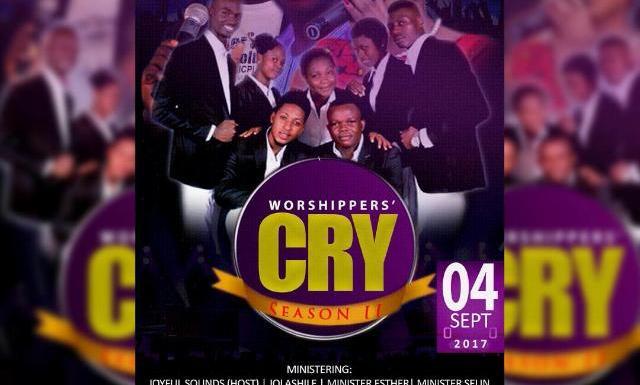 EVENT : JOYFULSOUNDS ANNOUNCES WORSHIPERS' CRY 2.0 #WC17 & NEW SINGLE RELEASE DATE @joyfulsounds13