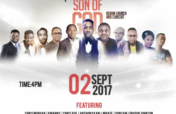 [EVENT] Gospel Minister, P'kach Unveils Album Cover and Launch Date | 2nd Sept