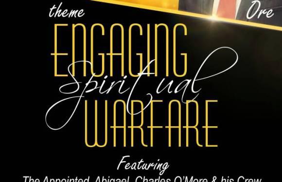 #Event : #JesusOnlyYouthquake with Sam Ore – ENGAGING SPIRITUAL WARFARE [@pastorsamore]