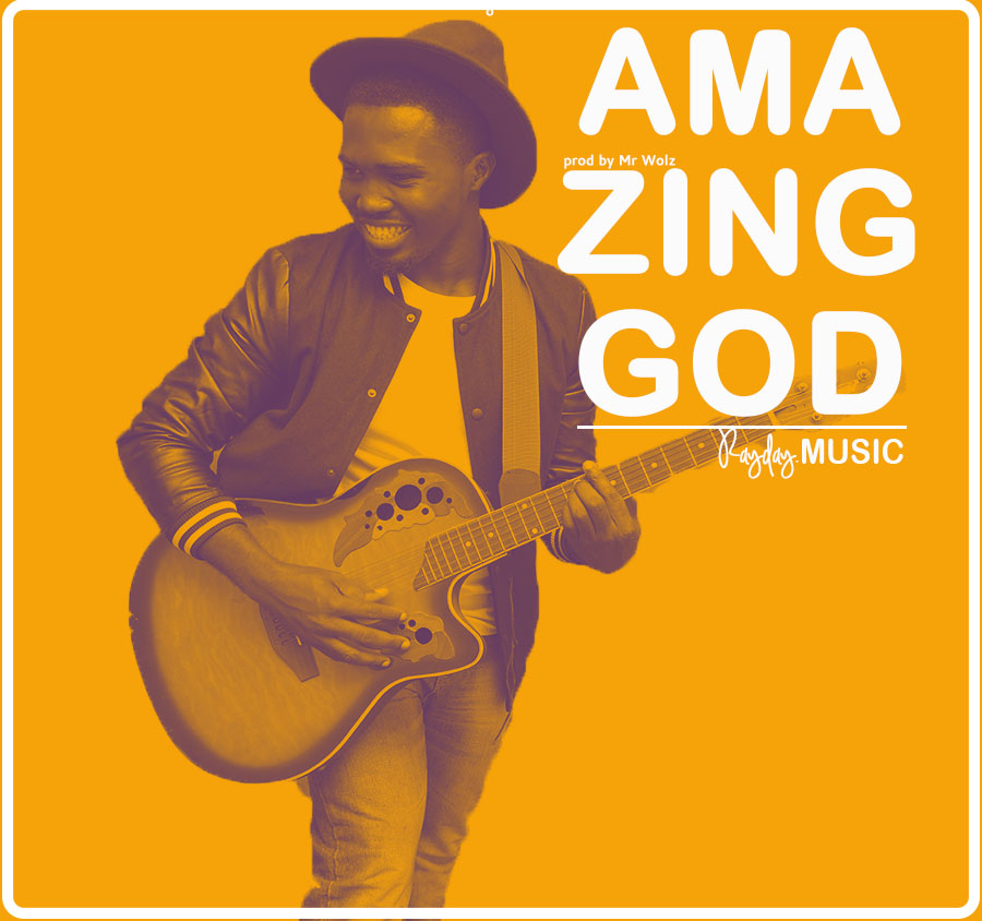 "RAYDAY RELEASES NEW SINGLE ""AMAZING GOD"""