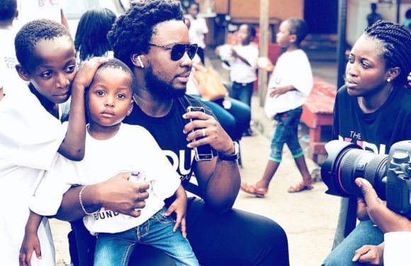 Sonnie Badu Adopts Orphanage With Over 60 Children | #TheBADUFoundation @sonniebaduuk