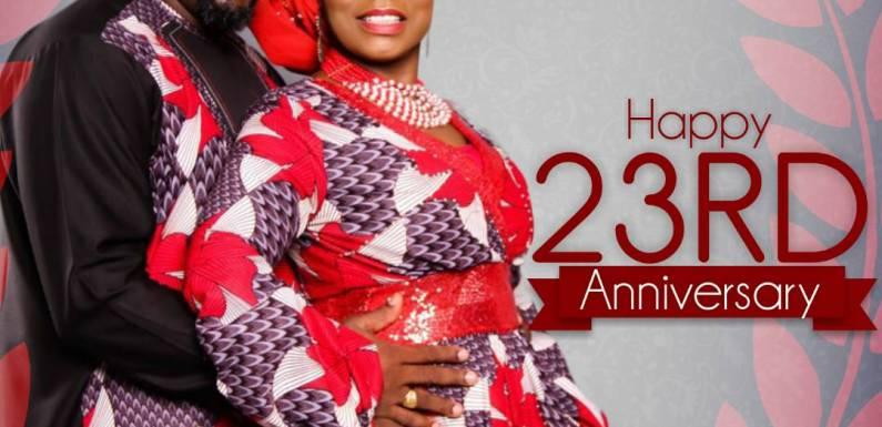 News: Minister Isabella Melodies and husband, Pastor Ogo Uzodike celebrates 23rd wedding anniversary @isabellamelodie