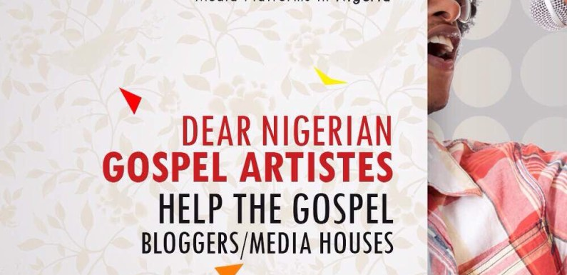 #DearGospelArtiste Help the Gospel Bloggers/ Media outfits 'Gospel Media Association cries out loud'