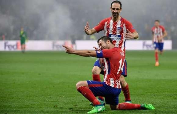 GOAL! Marseille 0-3 Atletico Madrid