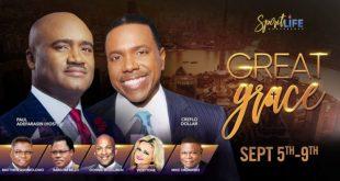 Paul Adefarasin Hosts Creflo Dollar, Mike Okonkwo, Matthew Ashimolowo, Donnie Mclurkin And Others At The Spirit Life Conference 2018