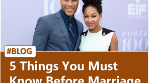5 Things You Must Know Before Marriage BY DEVON FRANKLIN