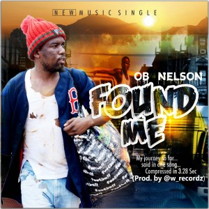 Found Me - OB NELSON