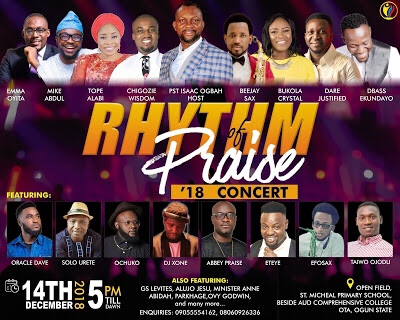 EVENT: Rhythm Of Praise Concert 2018, Host by Pastor Isaac Ogbah | @PraiseRhythm