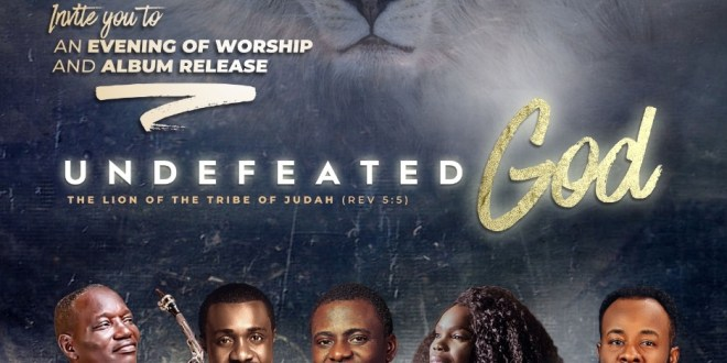 """Event: Femi Okunuga To Launch Sophomore Album """"Undefeated God"""" [@femiokunuga]."""