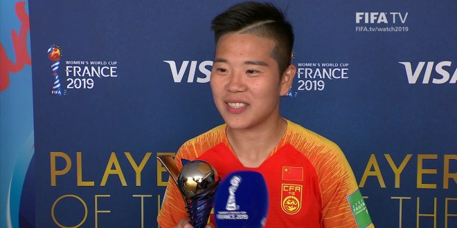 Li Ying – Player of the Match – South Africa v China PR – FIFATV