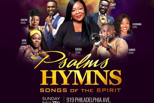 Event : Dara & Friends: 'Psalms Hymns & Songs of the Spirit' w/ Daramuzik, Joe Mettle & More! | July 7th || @daramuzik @jmettle @jumboane