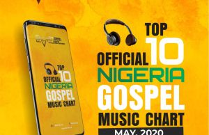 IACMP top 10 Official Gospel music chart