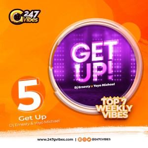 Get Up By Dj Ernesty Ft Yoyo Michael