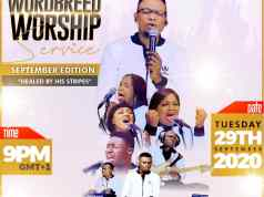 VIDEO: Chris Shalom & Wordbreed | Healed By His Stripes (Wordbreed Worship Service)