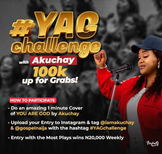 #YAGchallenge with Akuchay