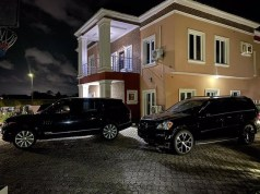 Williams Uchemba Blessed With 2 Luxury SUVs