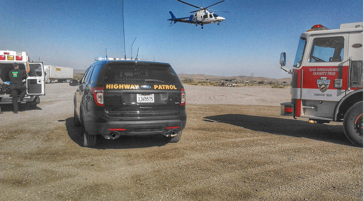 Baker area traffic collision leaves on man with major injuries