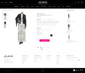 A screenshot of the Asthik website