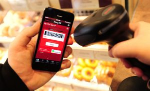Tim Hortons app created by app developers Toronto to make digital purchases.