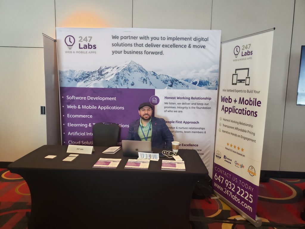247 Labs booth at the 5th Big Data And Analytics Annual Summit