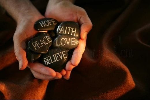 hope-faith-love-action-quote