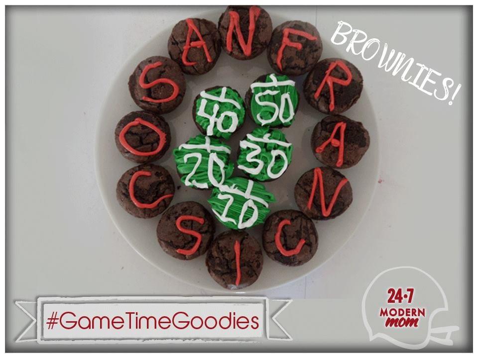 #GameTimeGoodies #Shop #Cbias Brownies