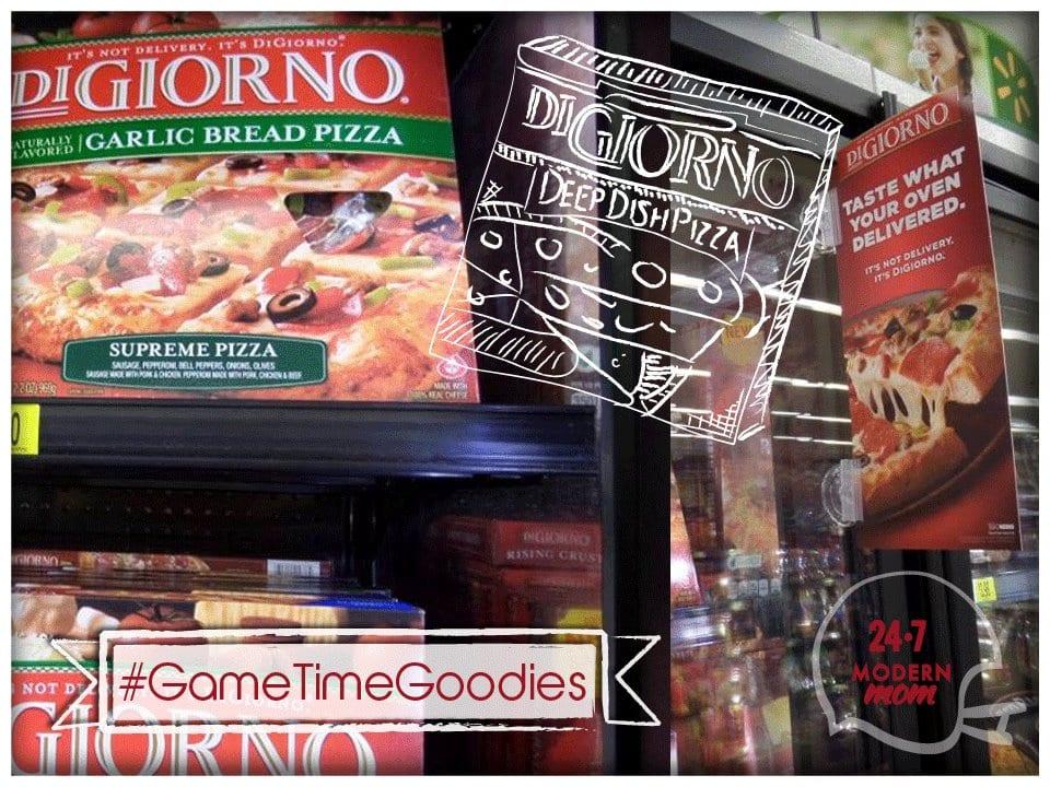 #GameTimeGoodies #Shop #Cbias DiGiorno Pizza
