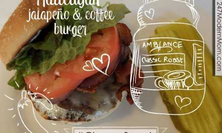 Hallelujah Jalapeño & Coffee Burger Recipe