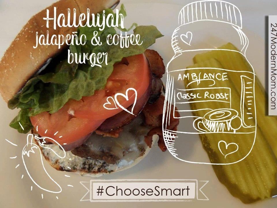 #Shop #ChooseSmart #Cbias Hallelujah Jalapeno Burger