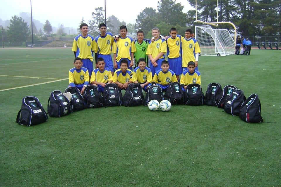 Soccer Team April 2014 - Johnny - JD - Toby - Luis - Omar
