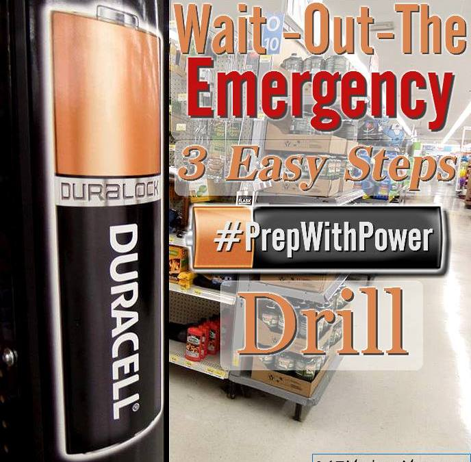 Duracell Passed: Our Wait-Out the-Emergency Drill, Every Parent Should Do