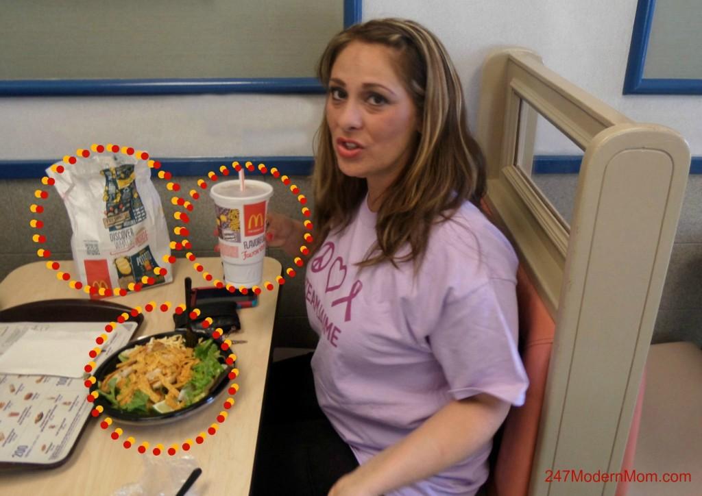 McDonalds Lunch #ad