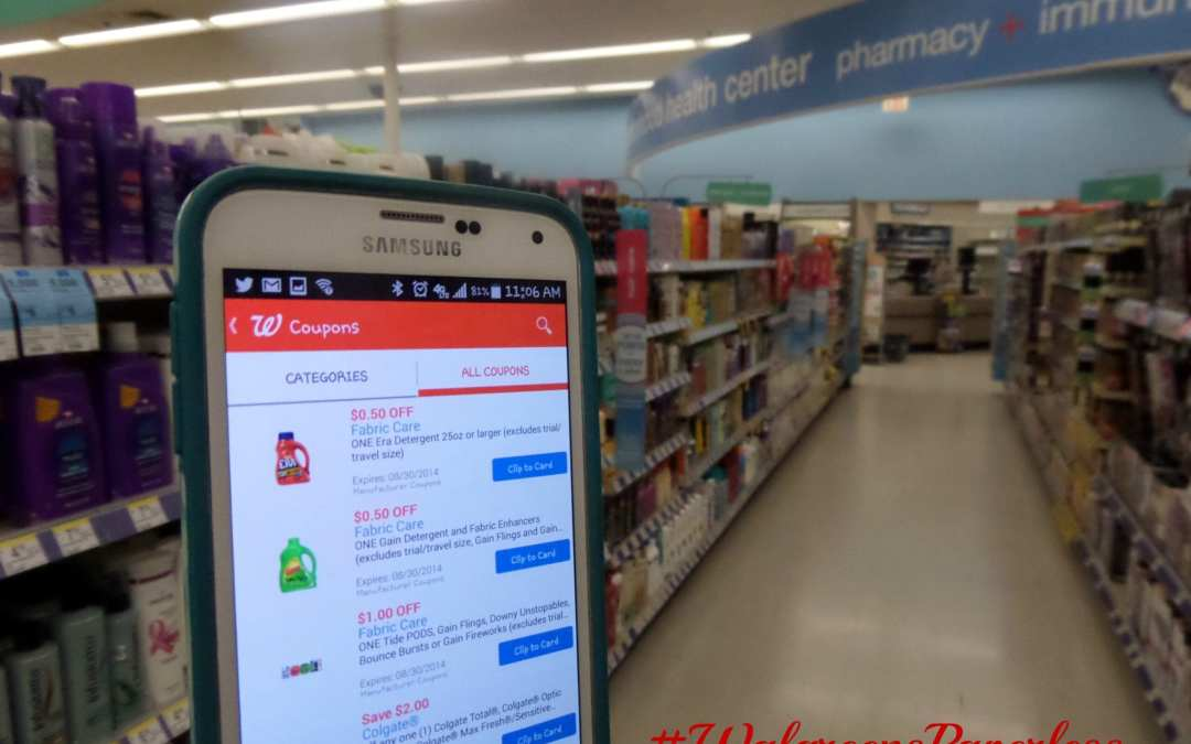 Walgreens Now Has Paperless Coupons: No More Extreme Clipping