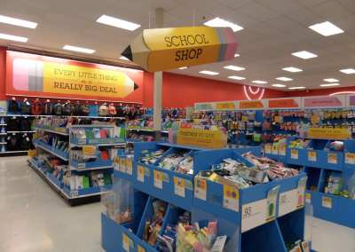 Back to School center Target #ad