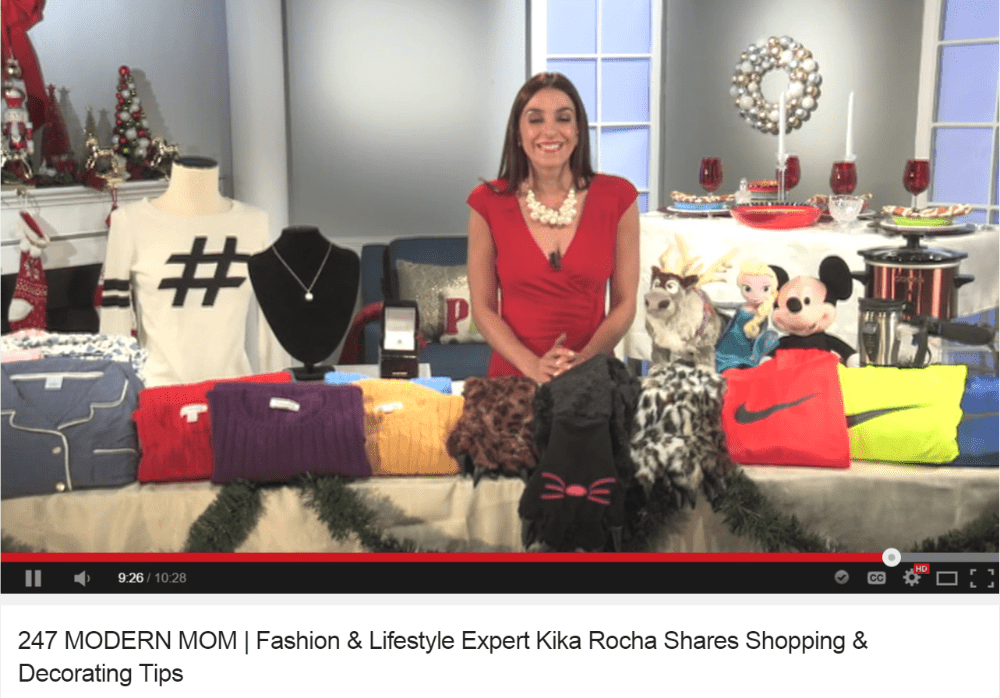 Kika Rocha Shares Her Beauty Tips & Christmas Gift Ideas: Perfect Gifts For The Last Minute Shopper