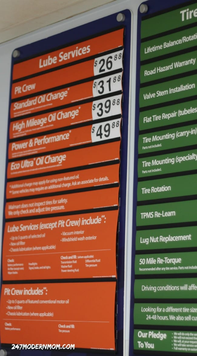 Oil Change Prices Ad Collective Bias 24 7 Modern Mom