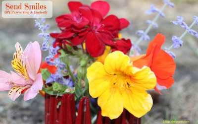 Send Smiles With This DIY Flower Vase & Matching Butterfly Tutorial