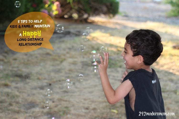 5 Tips To Help Kids & Family Maintain A Happy Long Distance