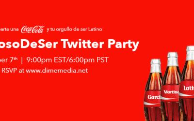 Coca-Cola #OrgullosoDeSer Hispanic Heritage Bilingual Twitter Party