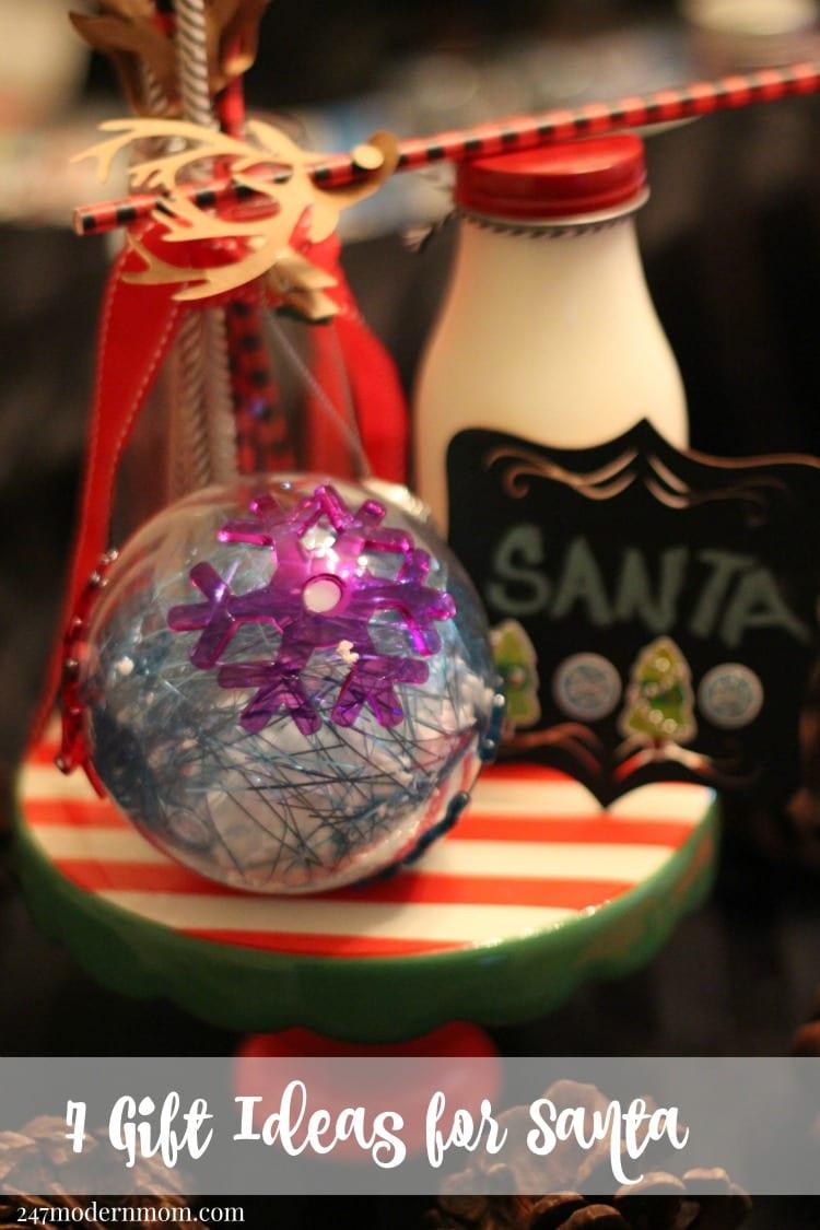 7 Gift Ideas for Santa