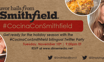 Get Ready for the Holiday Season #CocinaConSmithfield Bilingual Twitter Party with Ingrid Hoffmann