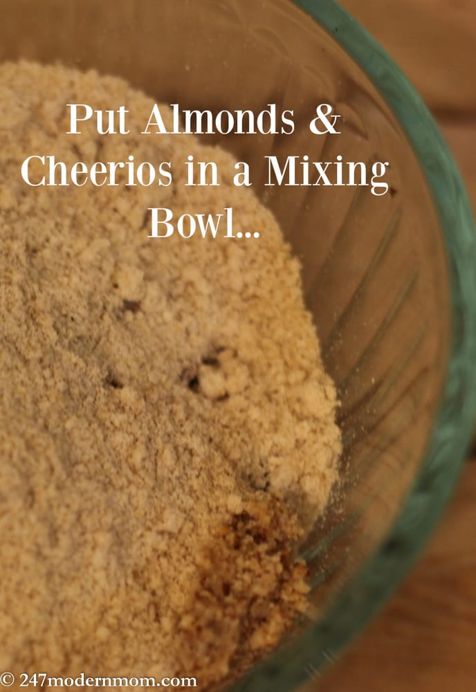 no bake recipe almonds and cheerios