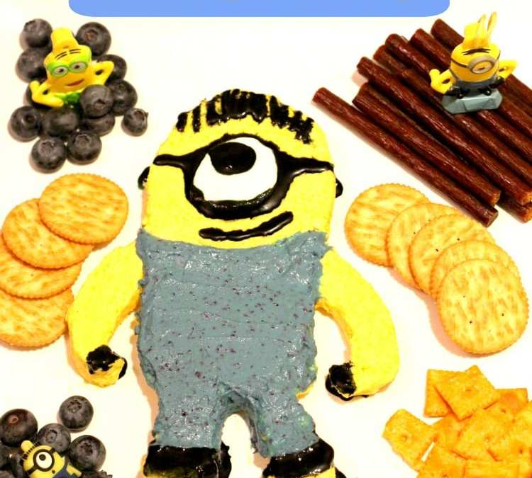 Minion Cheese Spread Recipe for Movie Night: Picture Tutorial