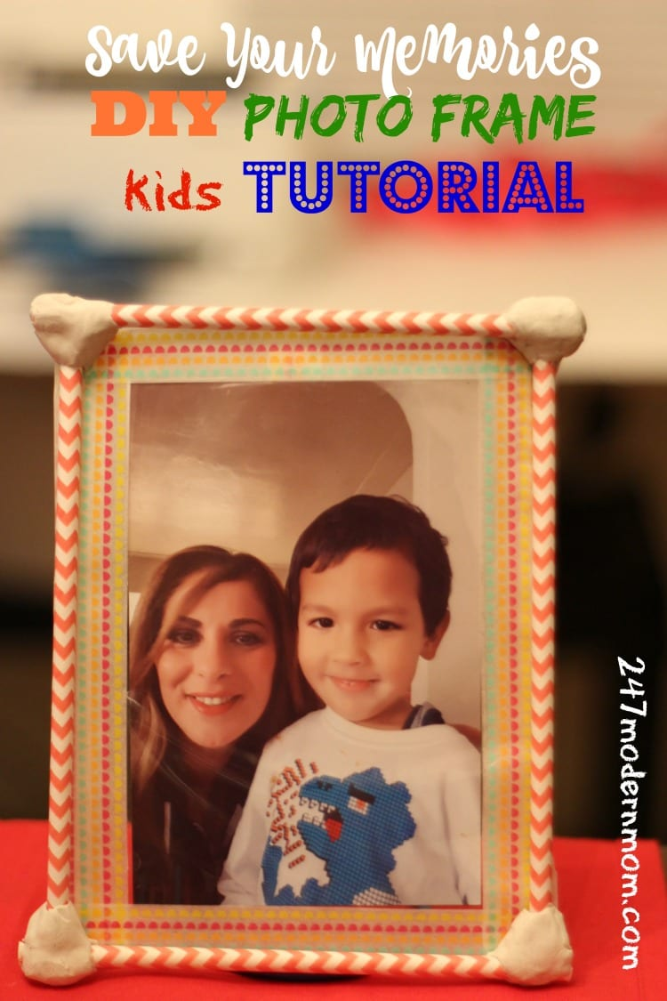 photo frame tutorial for HP Printer