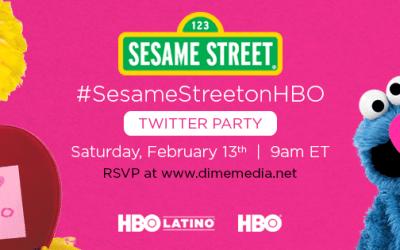 Sesame Street Valentine's Day Twitter Party