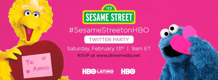 sesame street twitter party