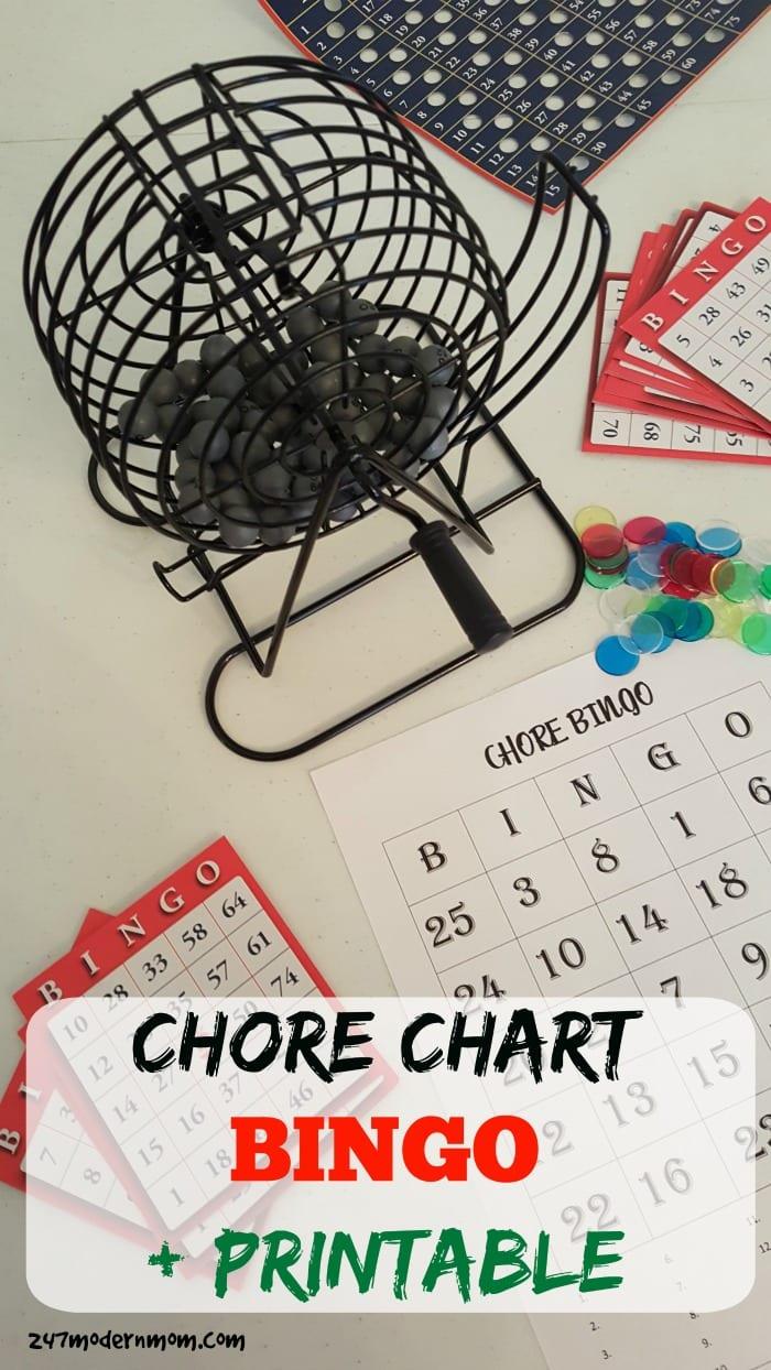 chore chart bingo hero