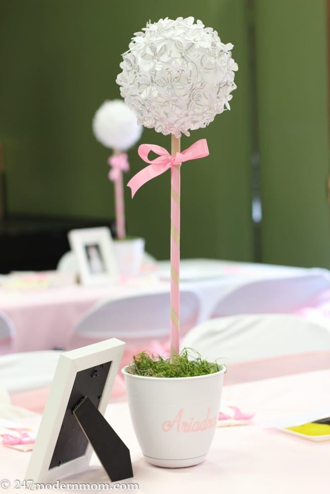 DIY Party Table Center