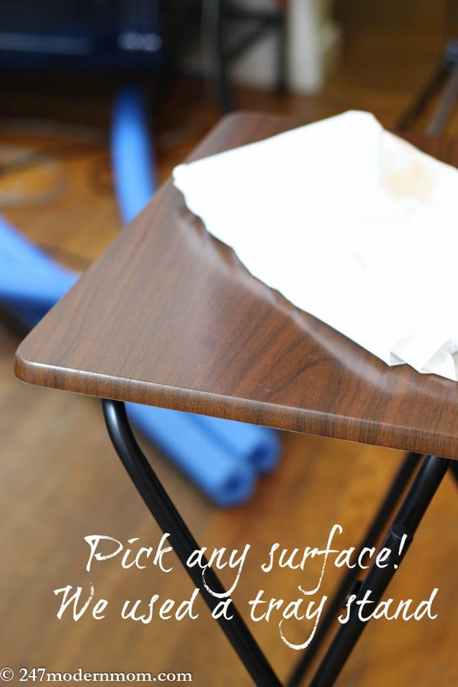 Sensory Table Tutorial-